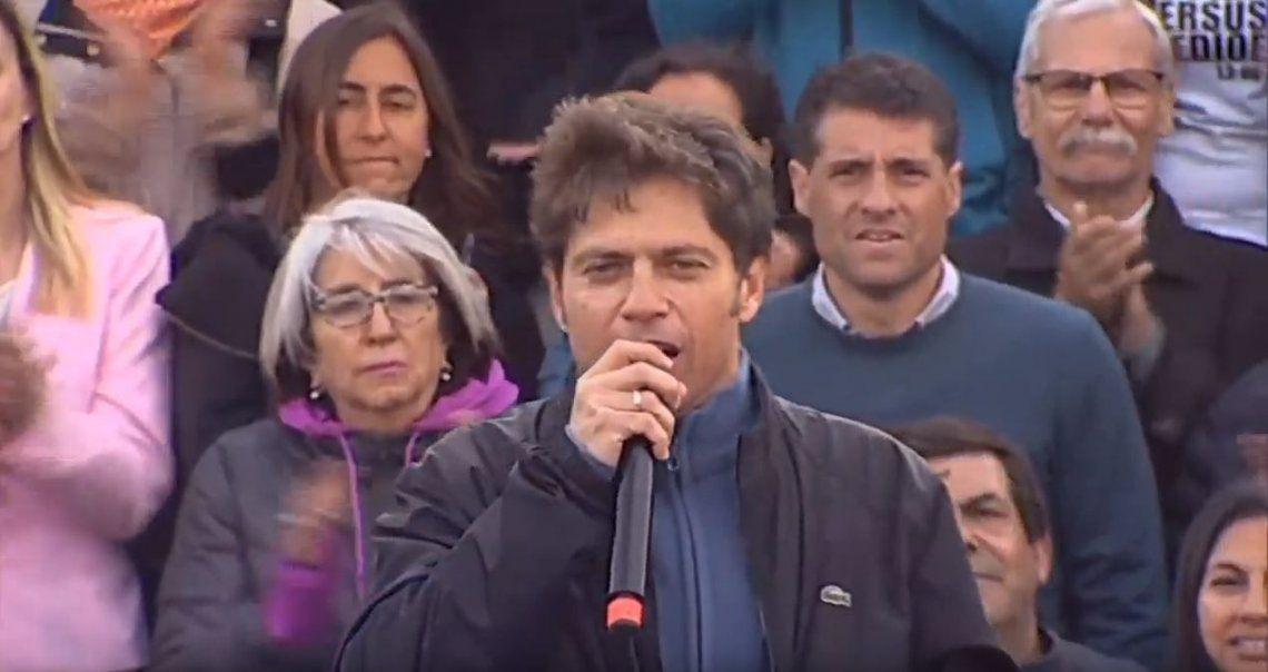 Kicillof: Macri dice que Sí se puede, pero evidentemente ellos no han podido