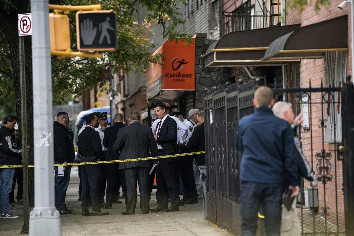 Nueva York: cuatro muertos y tres heridos durante un tiroteo en Brooklyn