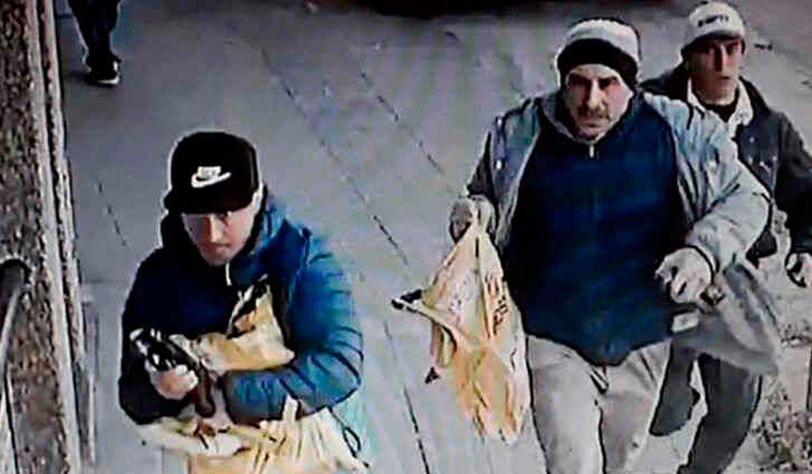 Detuvieron a uno de los presuntos ladrones que robaron un blindado en Lomas del Mirador
