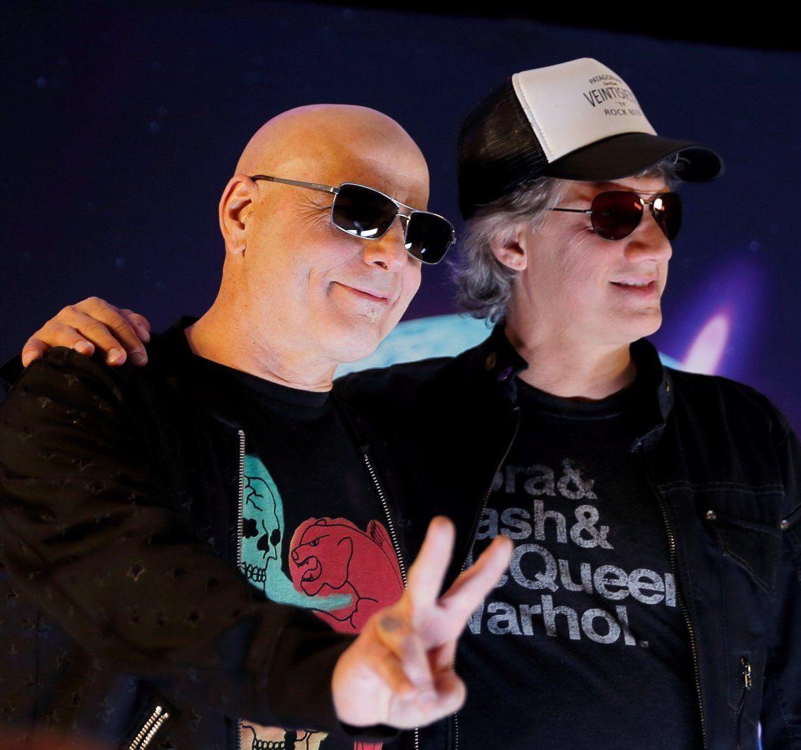 Zeta Bosio y Charly Alberti encabezarán la gira con artistas invitados.