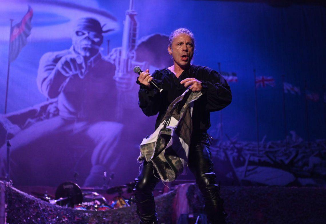 Fiebre metalera: las mejores imágenes del show épico de Iron Maiden en Vélez