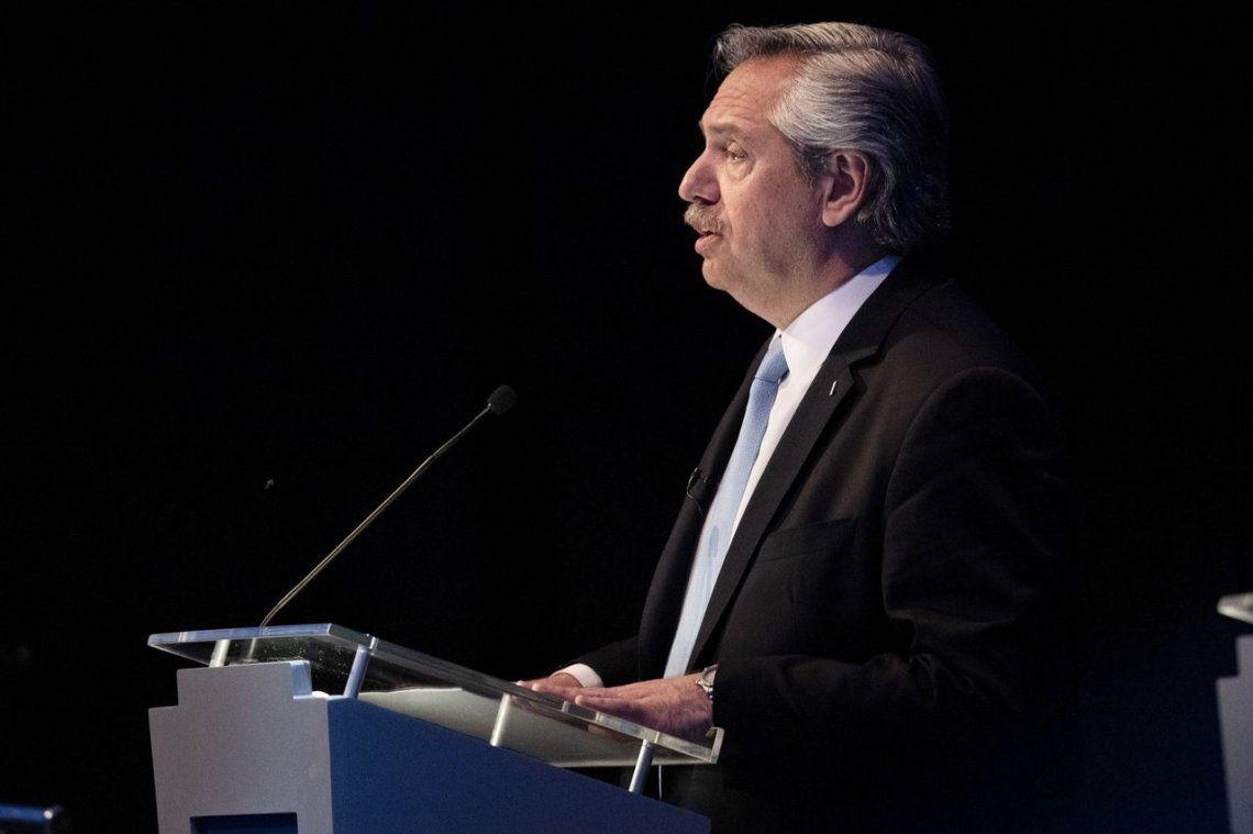 Alberto Fernández en el debate presidencial: Presidente, ya es hora de que deje de mentir