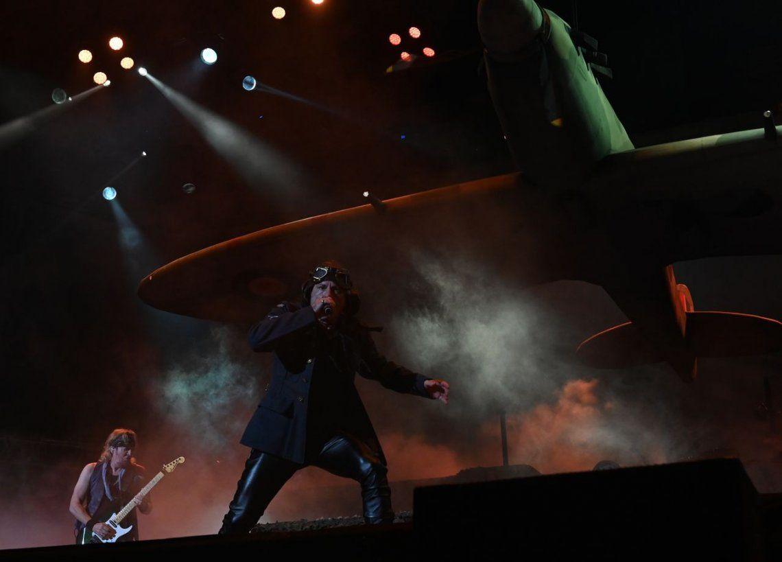 Iron Maiden en Vélez - Laura Tenenbaum