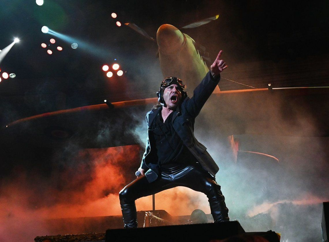 Iron Maiden en Vélez - Ph Laura Tenenbaum