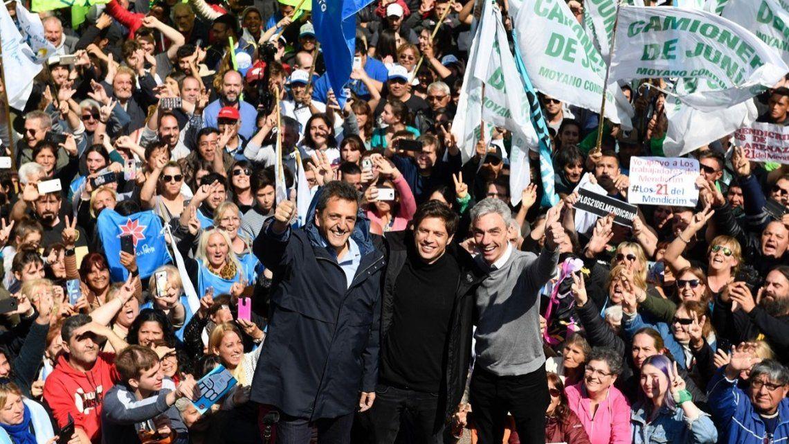 Axel Kicillof pidió terminar con la campaña sucia y las agresiones