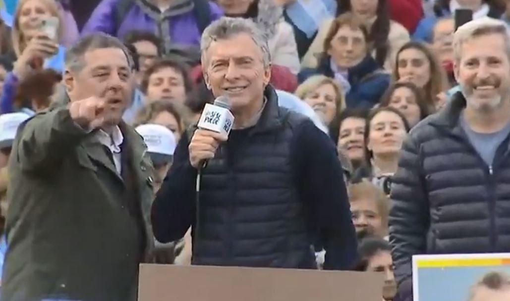Luego del debate, Macri encabezó en Paraná la marcha del  Sí, se puede