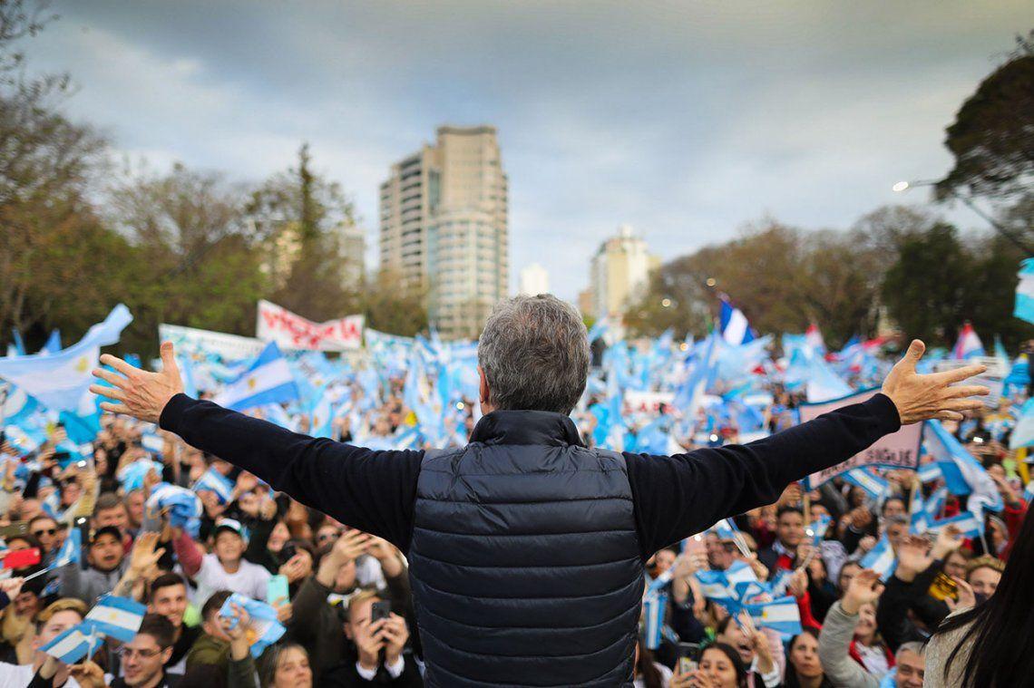 Marchas con las que busca lograr gobernabilidad