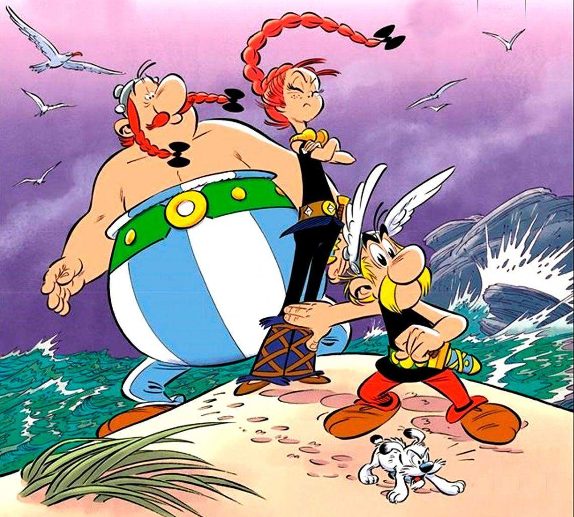 ¿Se coló Greta Thunberg en el nuevo comic de Asterix?