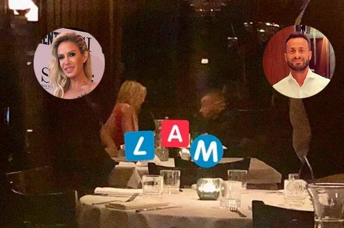 Encontraron a Luli Salazar cenando con Martin Baclini en un restaurante
