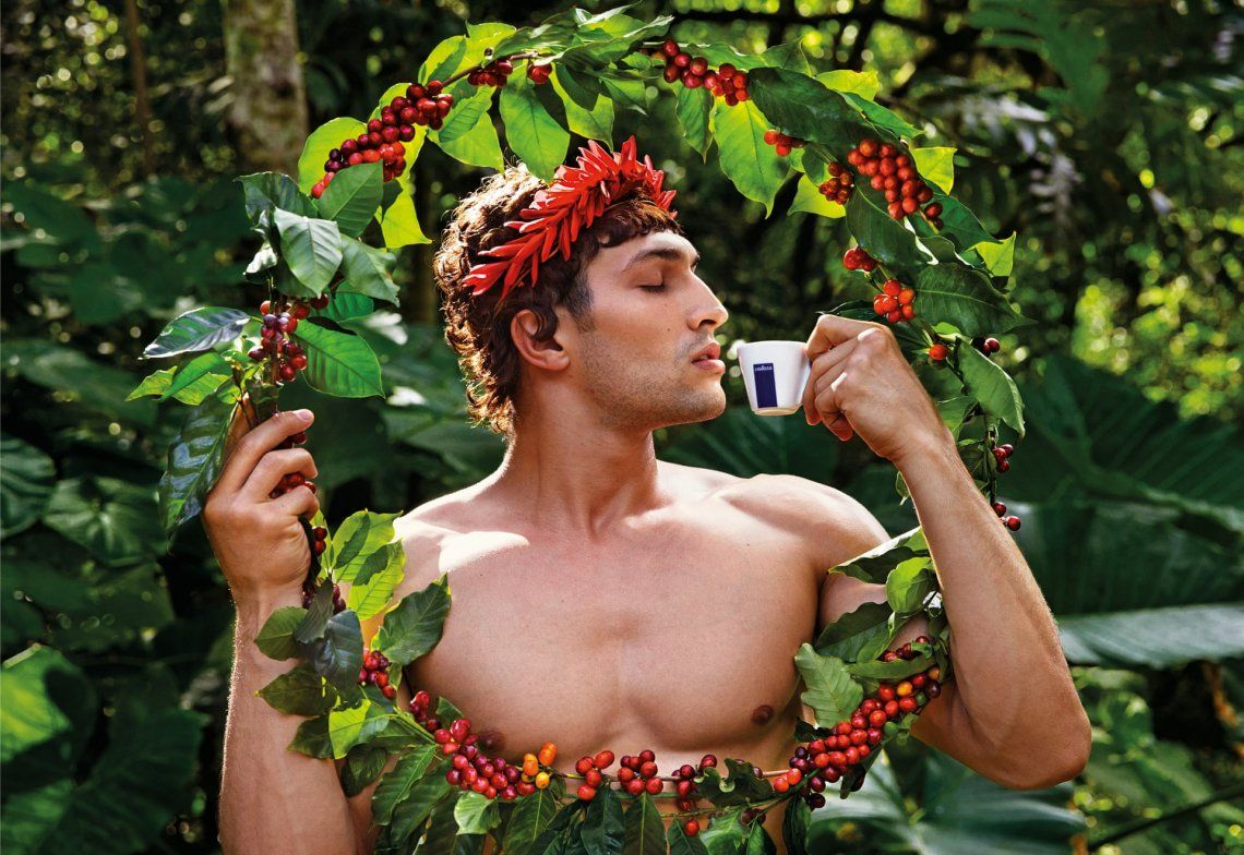 Calendario Lavazza 2020: David LaChapelle le rinde homenaje a la naturaleza