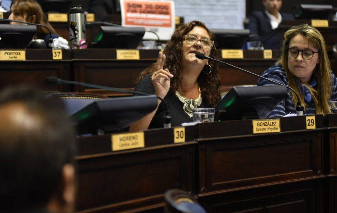 Susana González: El bonaerense hoy está a la deriva