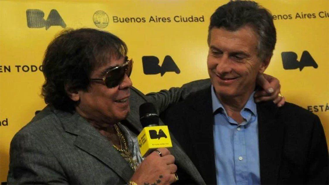 Mauricio Macri despidió a Cacho Castaña