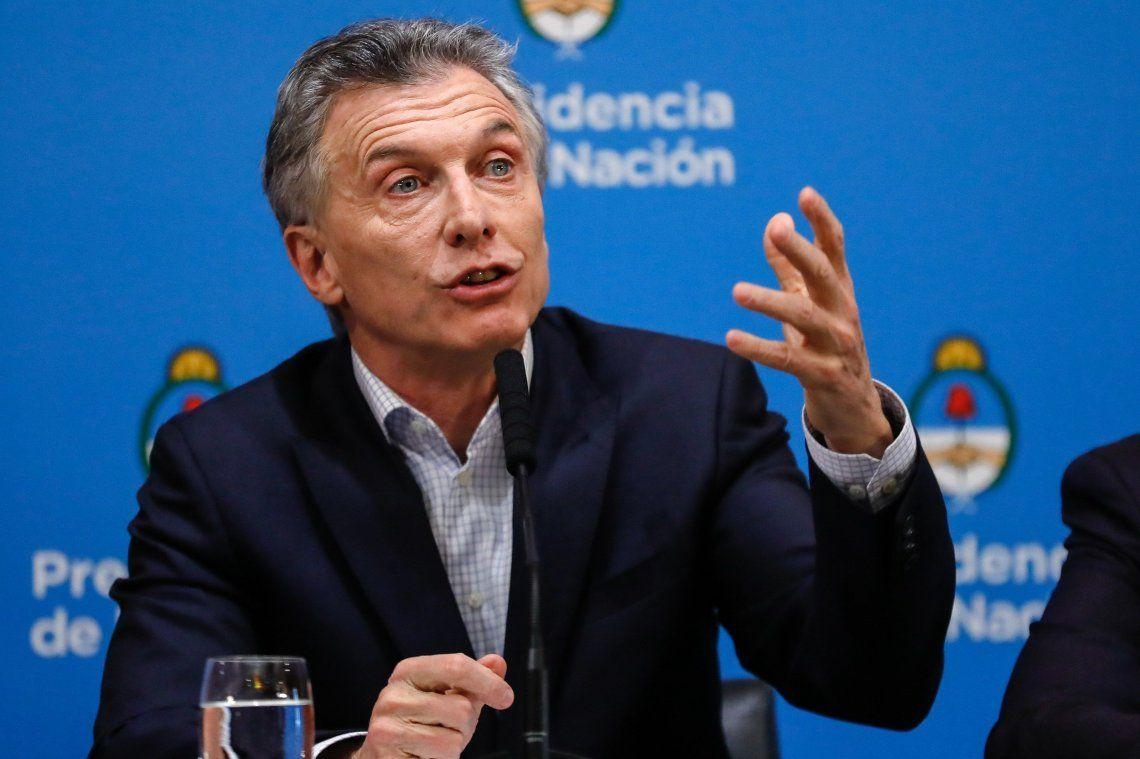 En caso de ser reelecto, Macri aseguró que ampliará la licencia por paternidad hasta 20 días