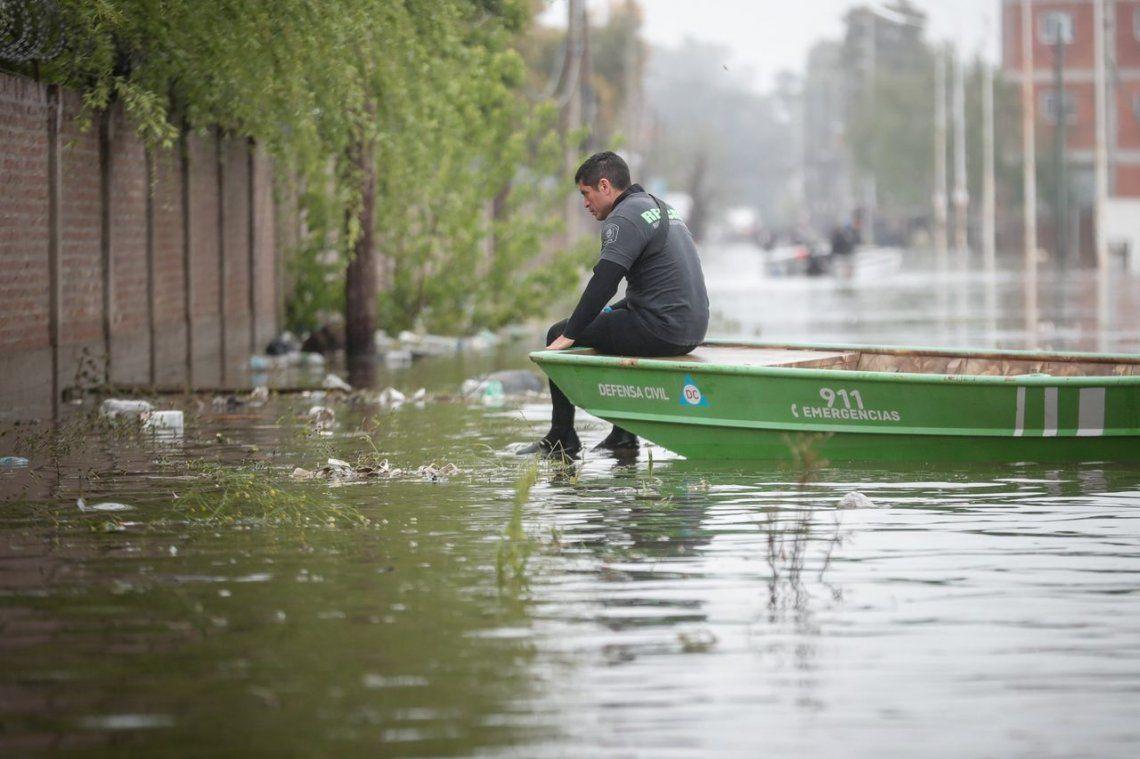 Inundaciones en el Conurbano: Cáritas Argentina inició una campaña solidaria