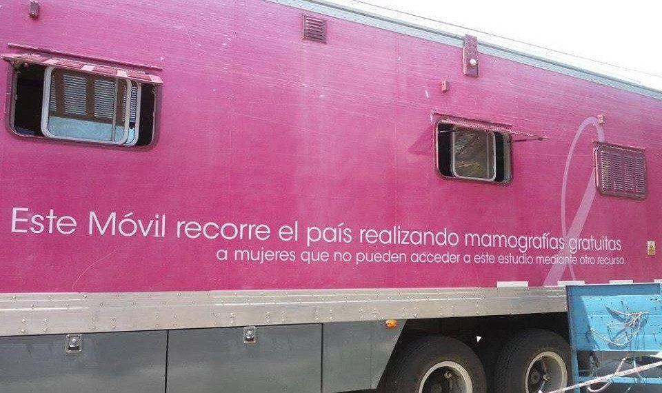 Las mamografías en la plaza Billinghurst se realizarán en una unidad móvil.