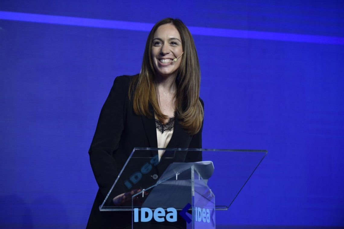 María Eugenia Vidal, en IDEA: Ningún bonaerense volvió a ser rehén de su voto