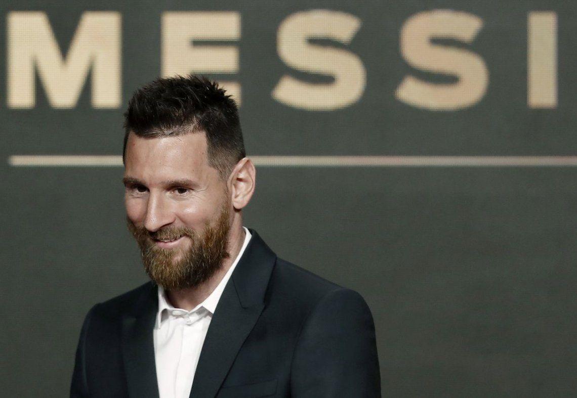 Messi habló de su retiro en la entrega del Balón de Oro