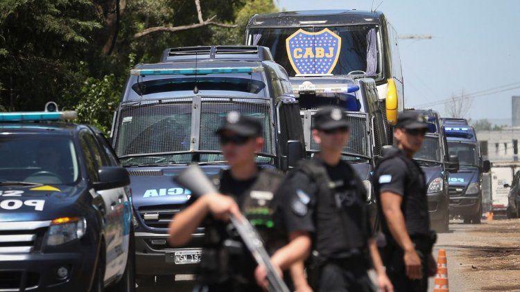 Alerta máxima de las autoridades de seguridad por el Boca-River