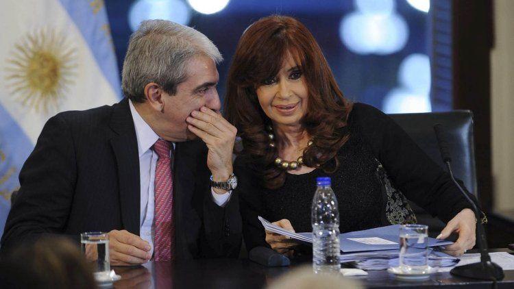 Aníbal Fernández reprodujo un audio de Cristina Kirchner en medio de un juicio