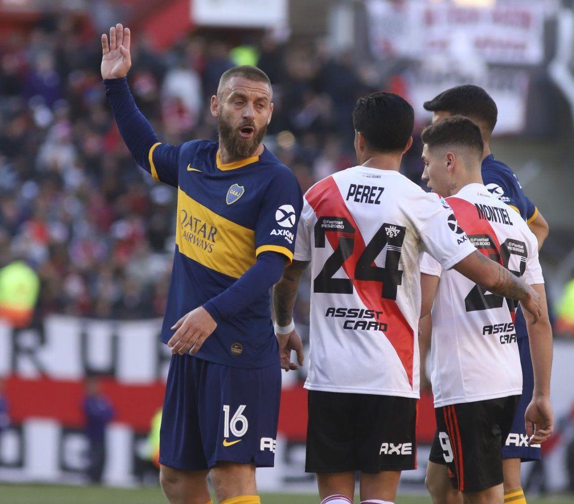 Daniele De Rossi borrado de los concentrados de Boca para Racing y River ¿seguirá o se va en diciembre?