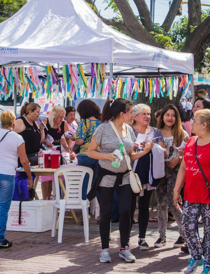 Berazategui: concientizan sobre el Cáncer de Mama