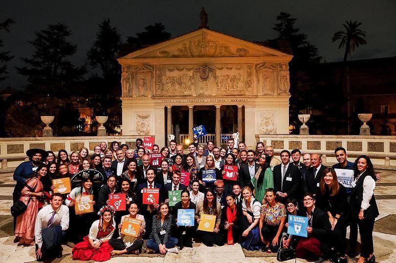 Scholas en Simposio de Jóvenes en el Vaticano 2019