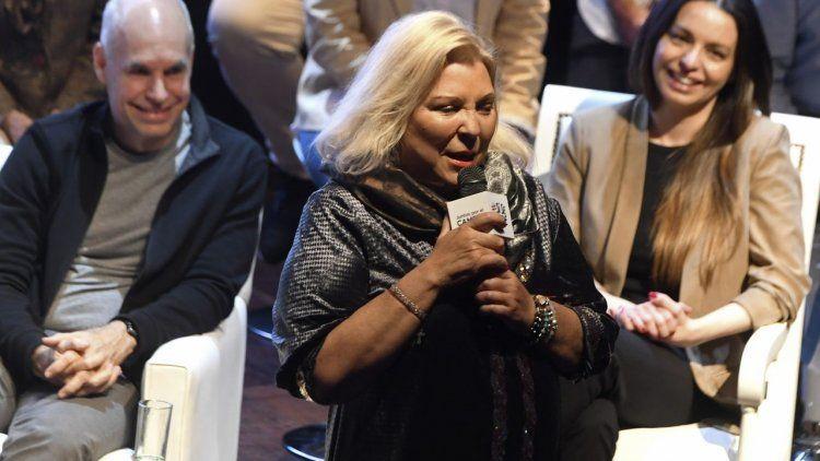 Elisa Carrió tildó de traidores a los oficialistas que llaman a cortar boleta