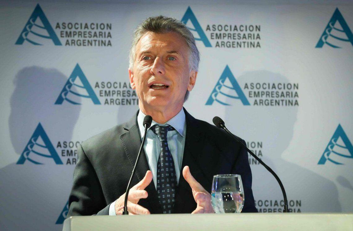 Elecciones 2019: Mauricio Macri cruzó a Cristina y acusó al gobierno anterior de dejar el Banco Central vacío