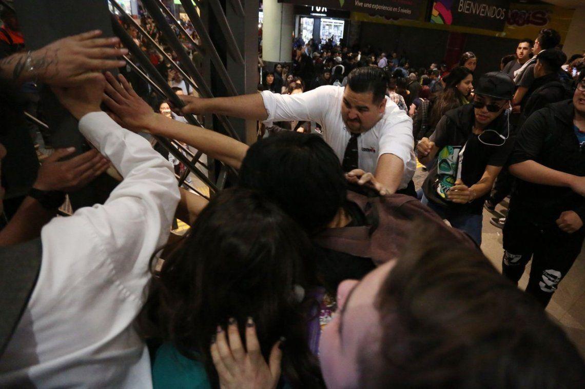 Chile: incidentes tras el aumento del boleto de subte