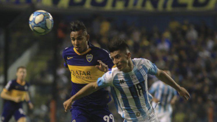 Con un gol de Zaracho, Racing le sacó el invicto a Boca