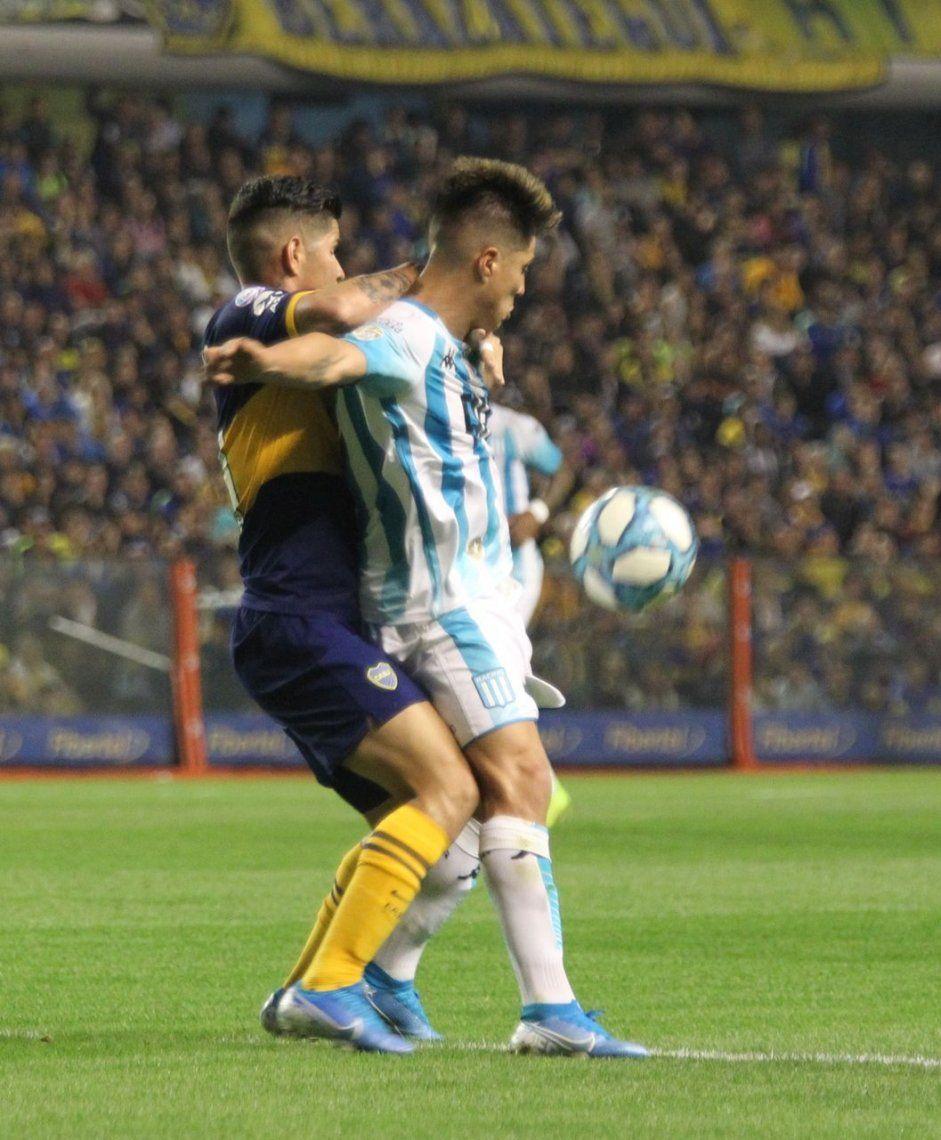 Boca-Racing por la Superliga: las mejores fotos de la victoria de la Academia en la Bombonera