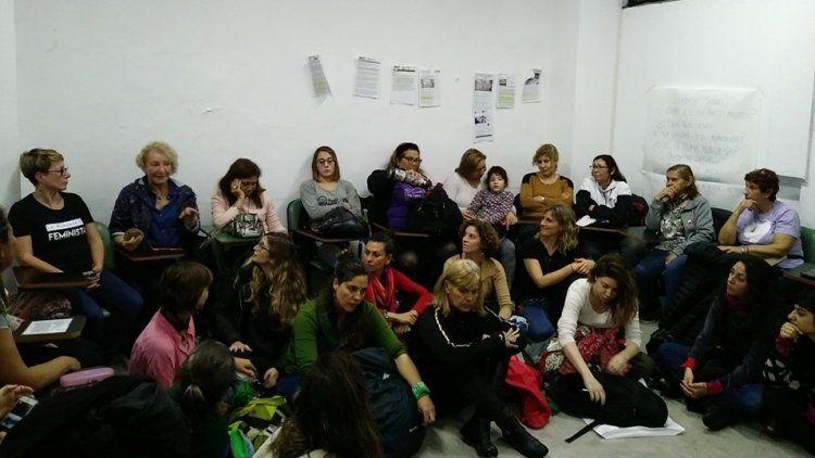 El taller ancestras se realizó en el marco del 34º Encuentro Nacional de Mujeres.