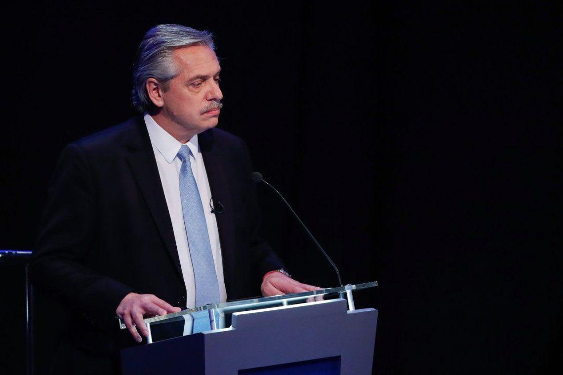 Elecciones 2019 | Alberto Fernández en el debate presidencial: Cuando tuve diferencias, renuncié y me fui a mi casa, no tengo nada que ver con corrupción