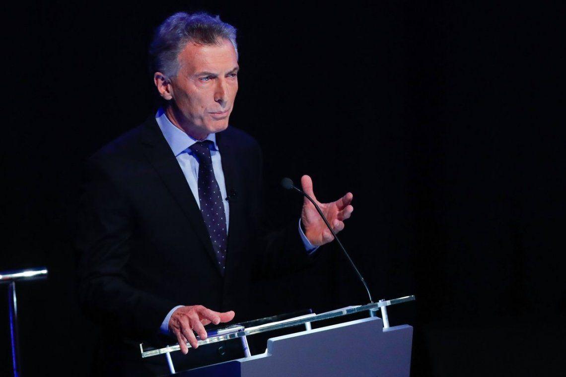 Elecciones 2019   Mauricio Macri en el debate presidencial: Es indignante escuchar a Alberto Fernández hablar ahora de pobreza, no les creo nada