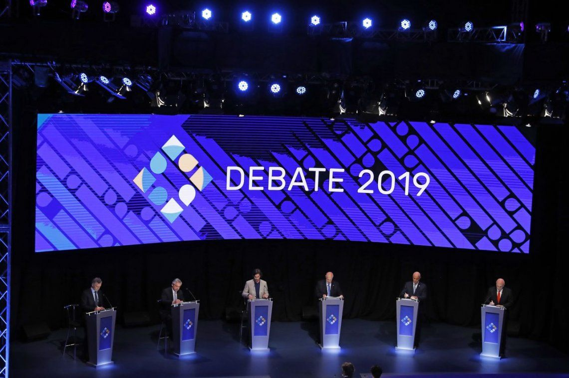 Segundo debate: Macri y Alberto Fernández profundizaron los cruces y lanzaron fuertes acusaciones