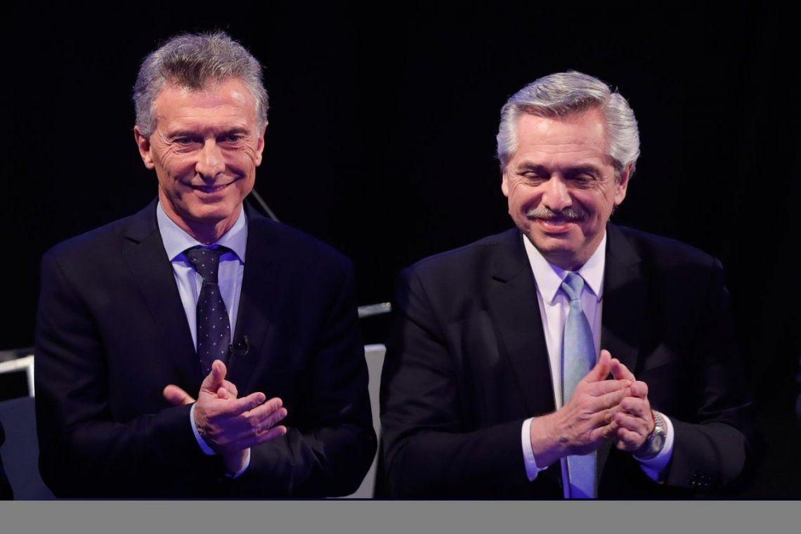 Mauricio Macri, con más actitud y Alberto Fernández sin dedo acusador