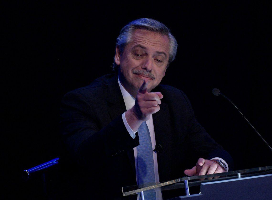 Elecciones 2019 | Alberto Fernández a Macri: Espero que no se vuelva a enojar y vuelva a llamar al Banco Central para que liberen el dólar