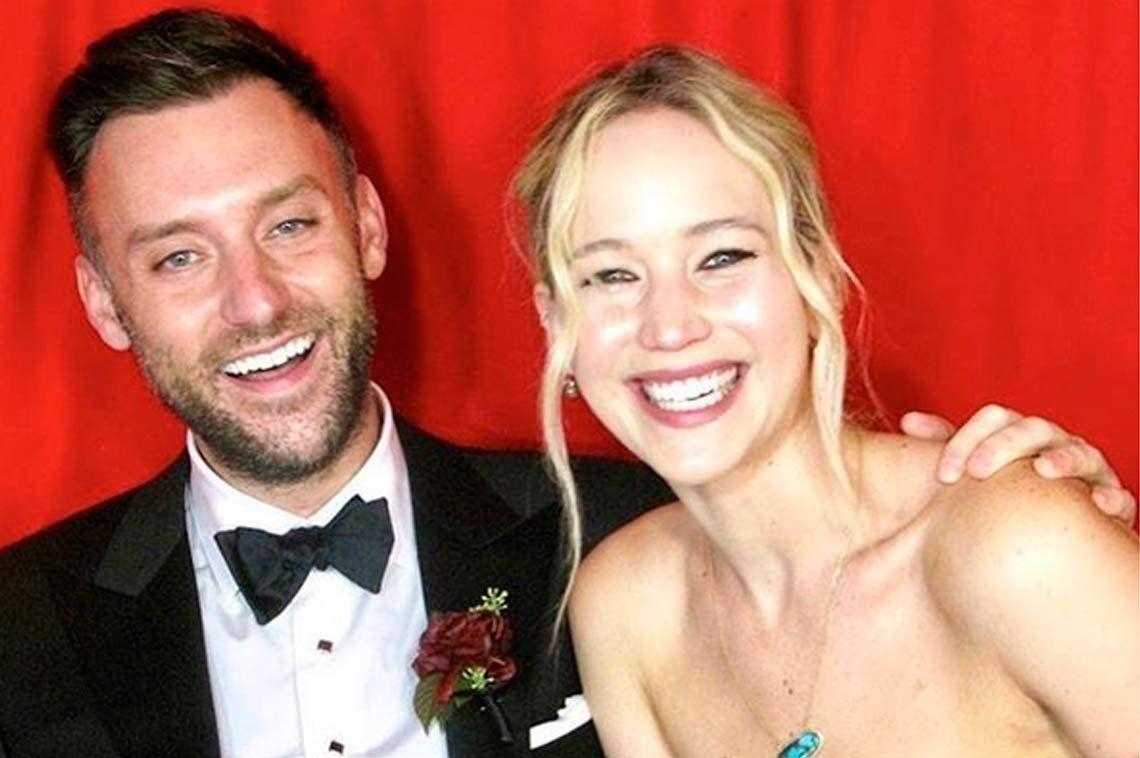 El casamiento de película de Jennifer Lawrence fue en un castillo
