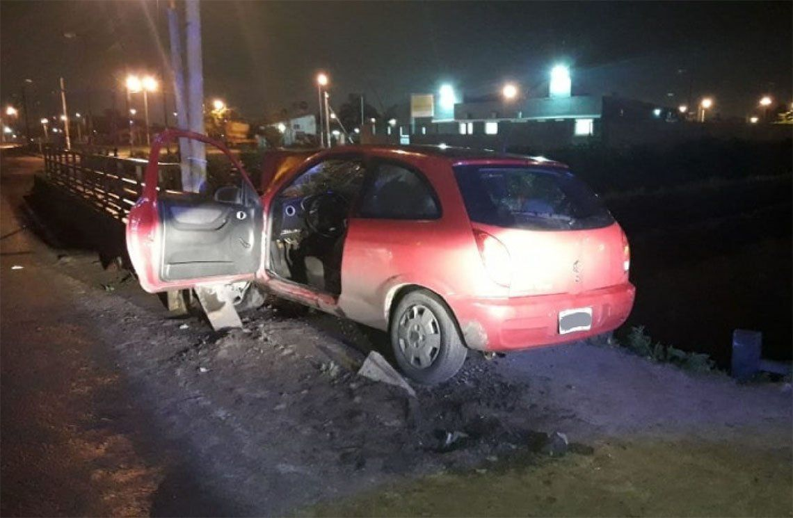 Quilmes: nuevo accidente en el puente de Camino General Belgrano y Calle 812