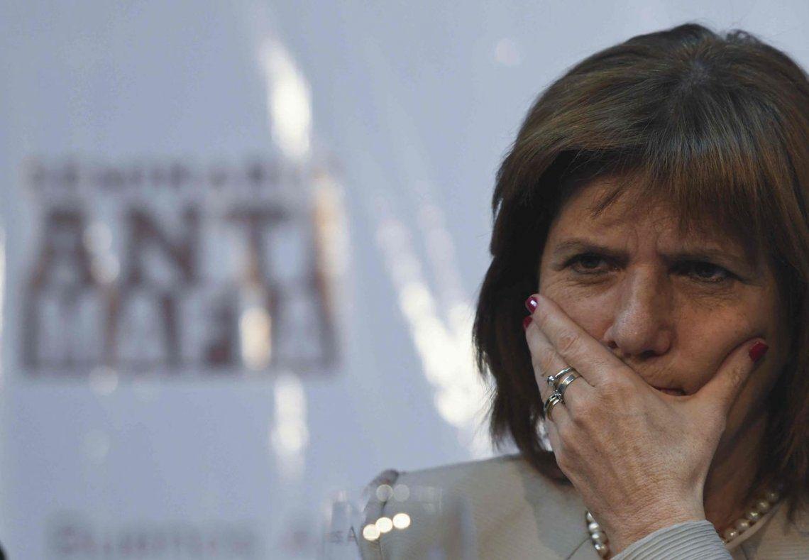 Patricia Bullrich y otros funcionarios fueron imputados por supuesta persecución a los mapuches