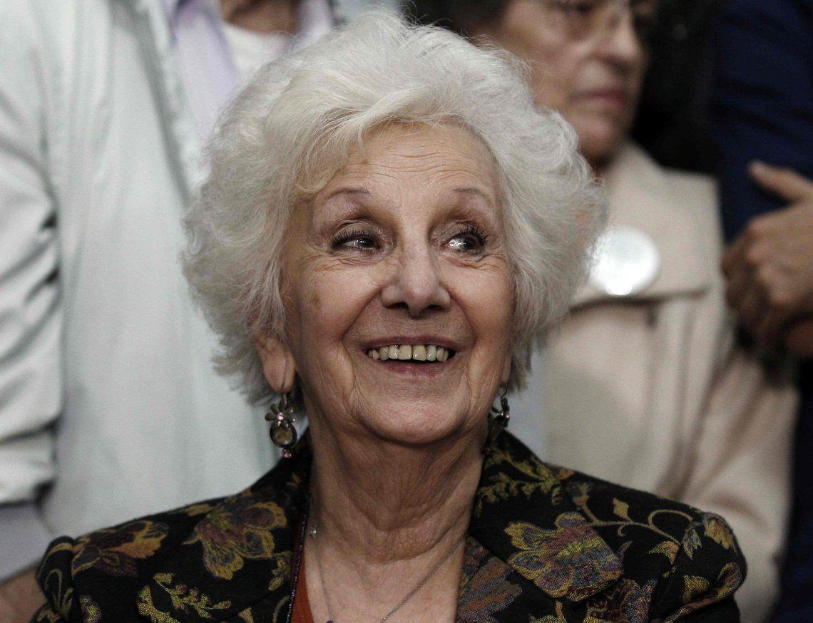 Estela de Carlotto se mostró a favor de establecer una Ley Antinegacionista