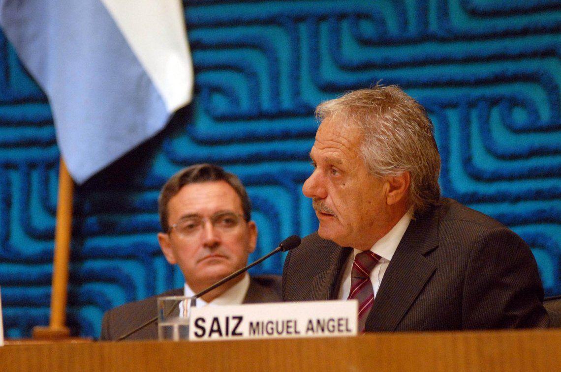 Falleció Miguel Saiz, el ex gobernador de Río Negro
