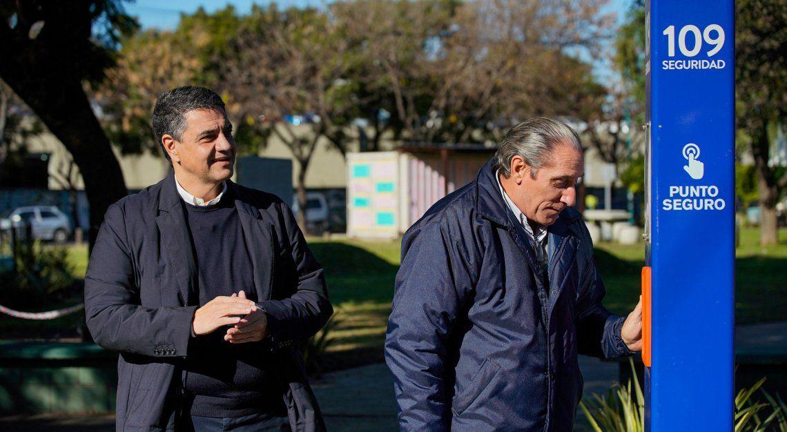 Otro de los destacados del municipio son los Puntos Seguros. Pueden verse en distintos barrios y ya cuentan con casos de éxitos.