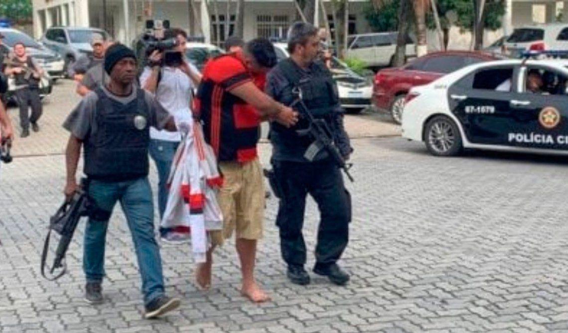 Un muerto y tres heridos en la previa de Flamengo-Gremio por Copa Libertadores