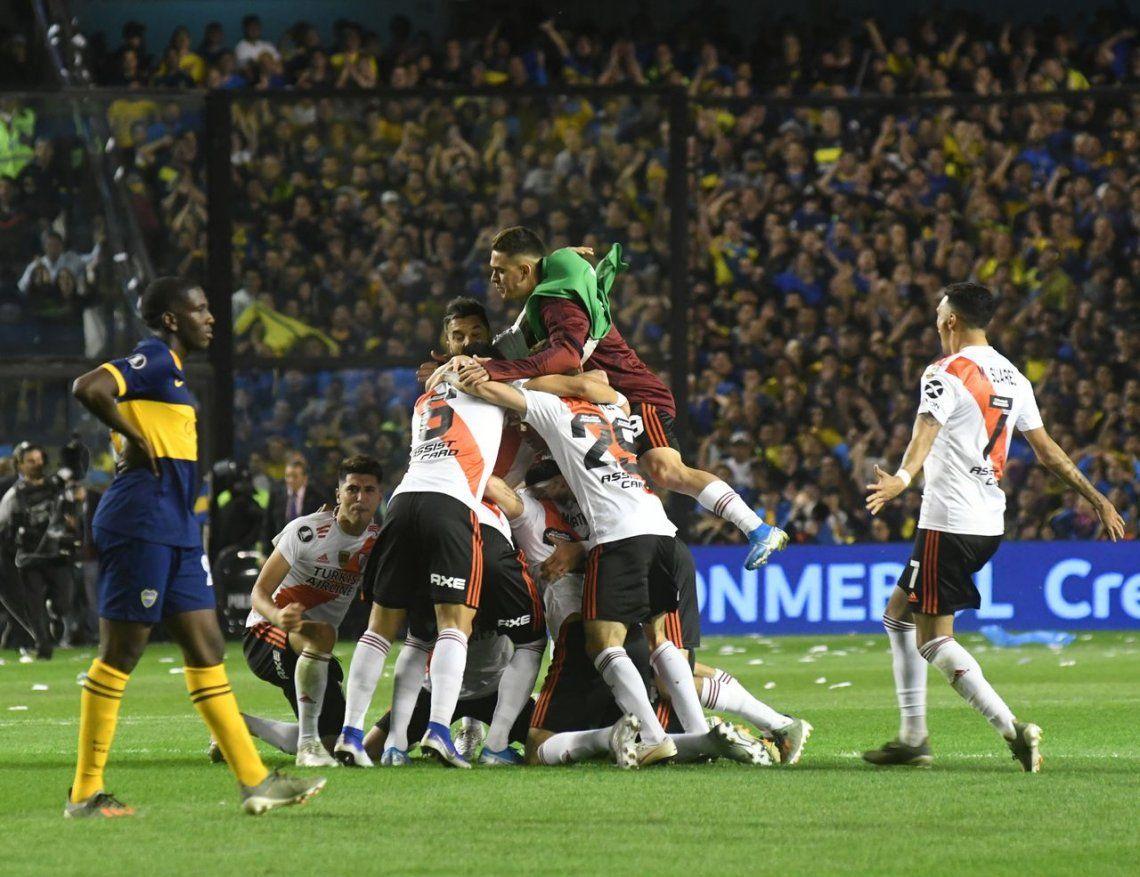 Boca ganó, pero no le alcanzó: River es finalista de la Libertadores
