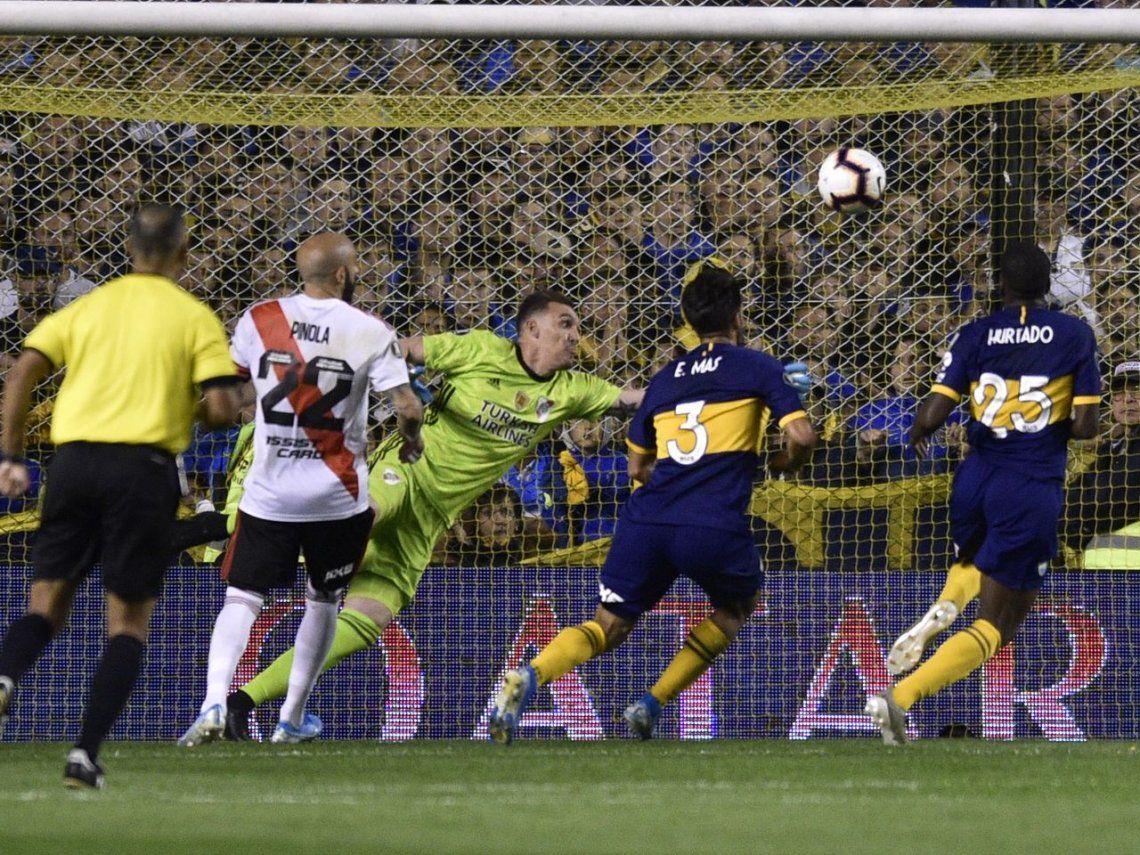 Boca-River: el gol de Jan Hurtado que le dio esperanzas al Xeneize en la Copa Libertadores