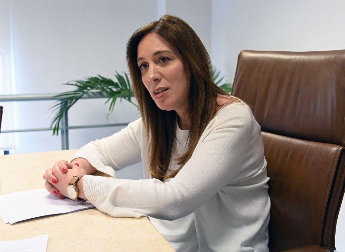 María Eugenia Vidal: Estoy convencida de que el futuro es sin grietas