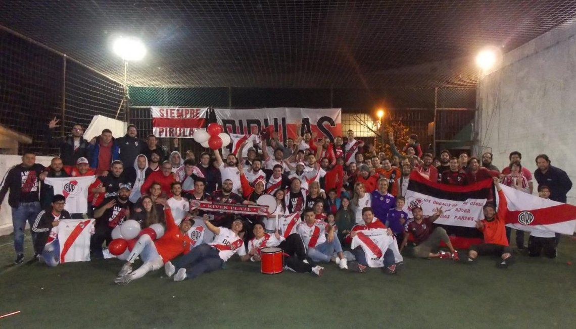 Cómo se vivió la semi por la Libertadores en la filial de River en Uruguay