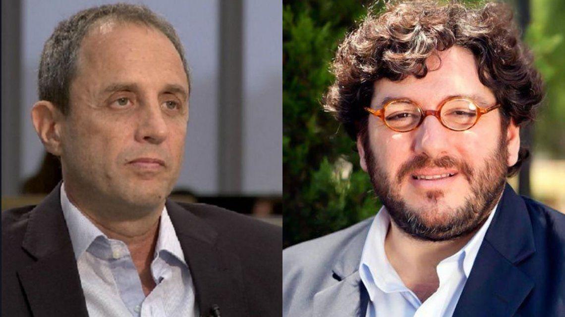 El fuerte cruce de Ernesto Tenenbaum y Pablo Avelluto por la grieta