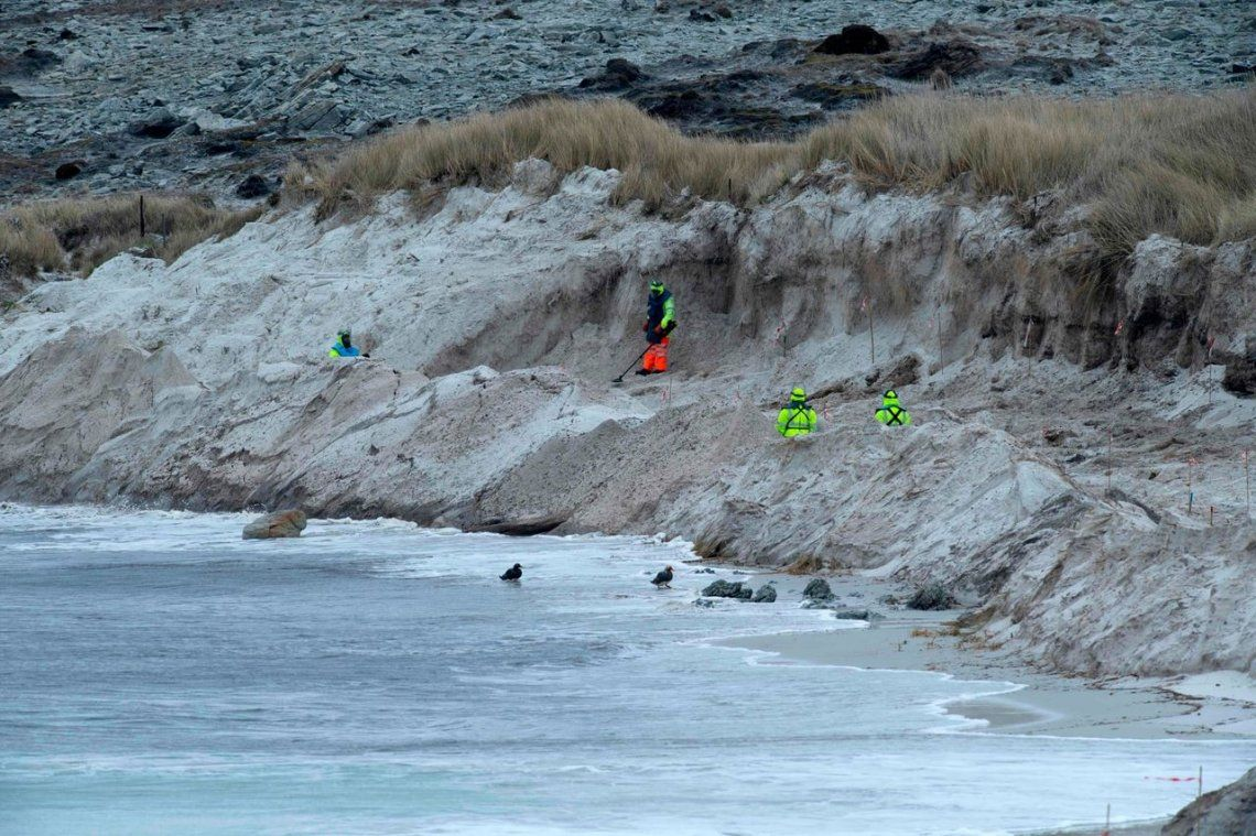 Islas Malvinas   Así trabajan expertos de Zimbabwe despejando minas